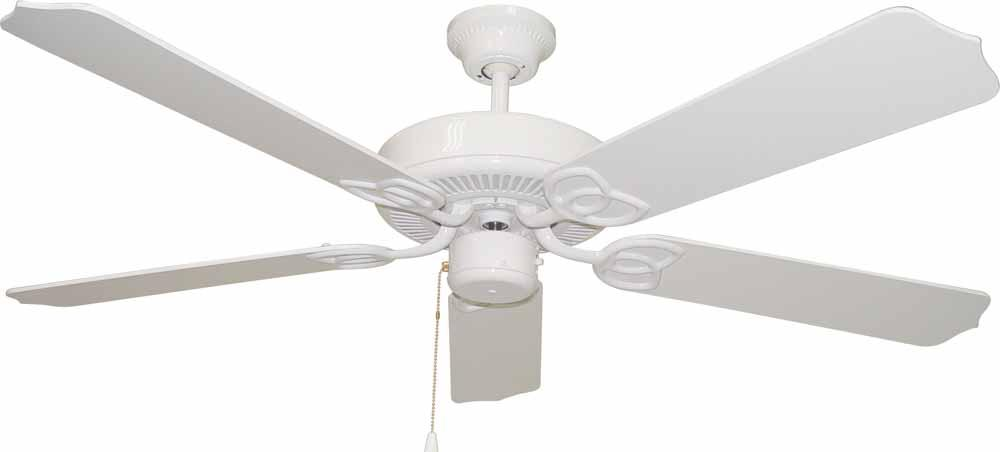 Champions Lighting in Houston, Texas, United States,  1W1LH, Minster White Ceiling Fan, Minster