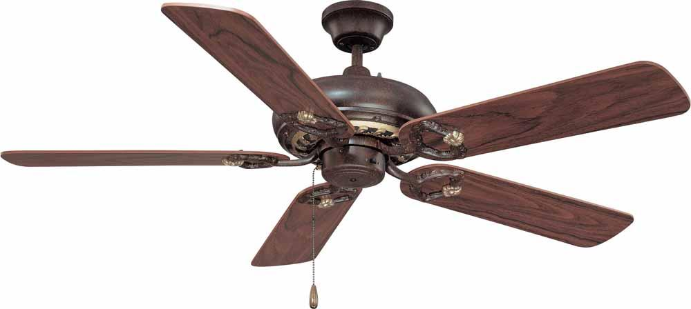 Champions Lighting in Houston, Texas, United States,  1W1M1, Bristol Vintage Bronze with Antique Gold Ceiling Fan, Bristol