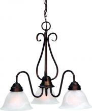 Volume Lighting V2353-79 - Minster 3-light Antique Bronze Chandelier