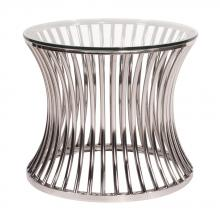 Howard Elliott 11190 - Stainless Steel Side Table