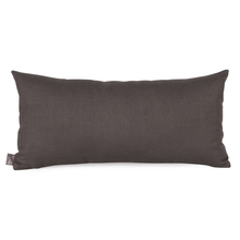 Howard Elliott 4-201F - Howard Elliott Sterling Charcoal Kidney Pillow - Down Insert