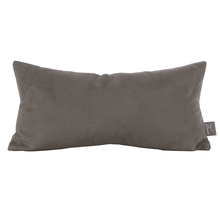 Howard Elliott 4-225F - Howard Elliott Bella Pewter Kidney Pillow - Down Insert