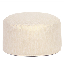 Howard Elliott 871-291 - Foot Pouf Glam Snow -Howard Elliott