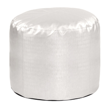 Howard Elliott 872-770 - Luxe Mercury Tall Pouf Ottoman