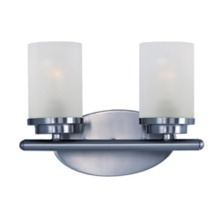 Maxim 10212FTPC - Corona 2-Light Bath Vanity