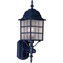 Maxim 1050BK - North Church 1-Light Outdoor Wall Lantern