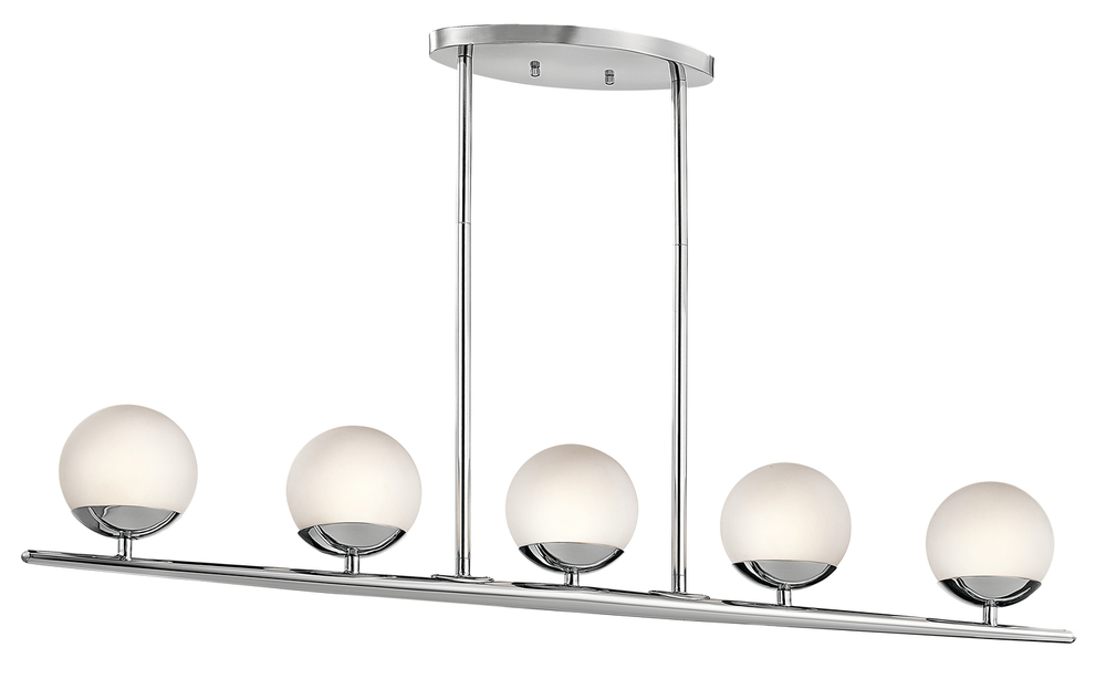 Linear Chandelier 5Lt Halogen