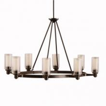 Kichler 2345OZ - Oval Chandelier 8Lt