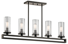 Kichler 42124OZ - Linear Chandelier 5Lt