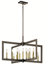 Kichler 43901OZ - Linear Chandelier 13Lt