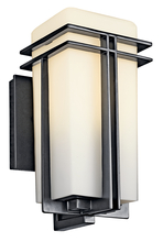 Kichler 49200BKFL - Outdoor Wall 1Lt Fluorescent