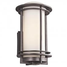 Kichler 49345AZFL - Outdoor Wall 1Lt Fluorescent