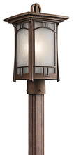 Kichler 49453AGZ - Outdoor Post Mt 1Lt
