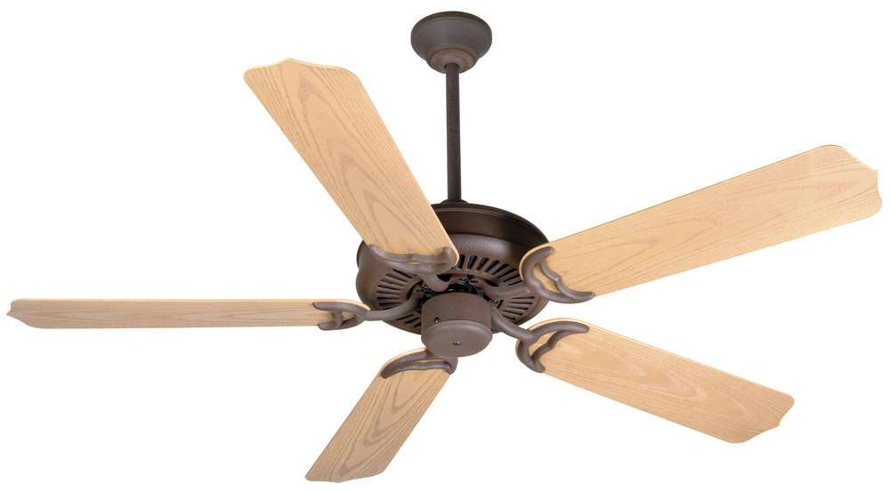 "Champions Lighting in Houston, Texas, United States,  PD0P, Porch Fan 52"" Ceiling Fan Kit in Rustic Iron, Porch Fan"