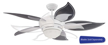 "Craftmade BL52W - 52"" Ceiling Fan - Ceiling Fan Motor only - Blades sold separately"