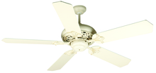 "Craftmade K10325 - Mia 52"" Ceiling Fan Kit with Light Kit in Antique White Distressed"
