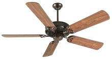 "Craftmade K10832 - American Tradition 52"" Ceiling Fan Kit in Oiled Bronze"