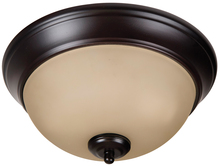 "Craftmade XP11OB-2A - Pro Builder 2 Light 11"" Flushmount in Oiled Bronze"