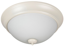 "Craftmade XP13AW-2W - Pro Builder 2 Light 13"" Flushmount in Antique White"