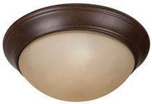 "Craftmade XPP13AG-2A - Pro Builder Premium 2 Light 13"" Flushmount in Aged Bronze Textured"