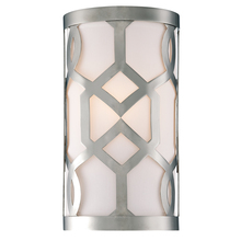 Crystorama 2262-PN - Libby Langdon for Crystorama Jennings 1 Light Polished Nickel Sconce