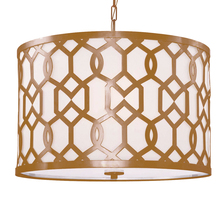 Crystorama 2266-AG - Libby Langdon for Crystorama Jennings 5 Light Aged Brass Chandelier