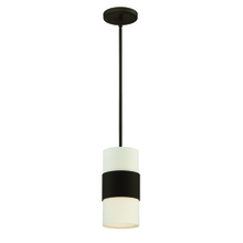 Crystorama 290-DB - Libby Langdon for Crystorama Grayson 1 Light Dark Bronze Pendant
