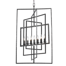 Crystorama 339-RS - Crystorama Capri 7 Light Raw Steel Chandelier