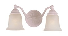 Crystorama 682-BH - Crystorama Chesapeake 2 Light Blush Sconce