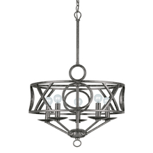 Crystorama 9245-EB - Crystorama Odette 5 Light English Bronze Mini Chandelier