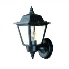 Acclaim Lighting 5005BK - Builder's Choice Collection Wall-Mount 1-Light Outdoor Matte Black Light Fixture