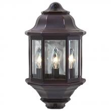 Acclaim Lighting 6003ABZ - Pocket Lantern Collection Wall-Mount 3-Light Outdoor Architectural Bronze Light Fixture