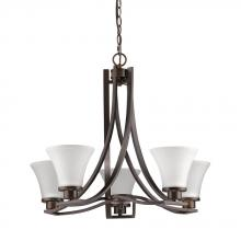Acclaim Lighting IN11270ORB - Mia Indoor 5-Light Mini Chandelier W/Glass Shades In Oil Rubbed Bronze