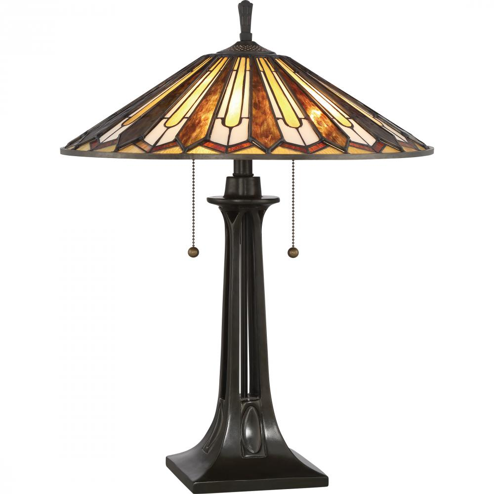 Champions Lighting in Houston, Texas, United States,  L70D, Tiffany Table Lamp, Tiffany