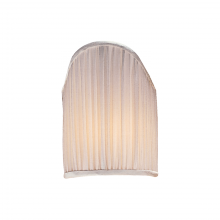 "Visual Comfort CHS 111S - 4"" x 5.5"" Silk Pleated Candle Clip Shiel"