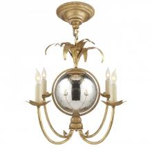 Visual Comfort CHC 5370GI - Gramercy Mini Chandelier in Gilded Iron