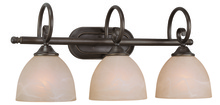 Jeremiah 25303-OB - Raleigh 3 Light Vanity in Old Bronze