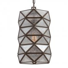 Sea Gull 6541401BLE-782 - Fluorescent Harambee Medium One Light Pendant in Heirloom Bronze with Mercury Glass