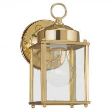 Sea Gull 8592-02 - One Light Outdoor Wall Lantern