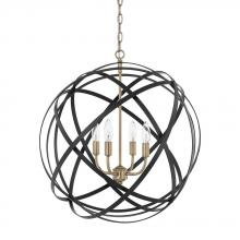 Capital 4234AB - 4 Light Pendant