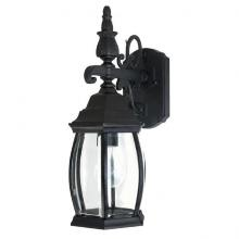Capital 9866BK - 1 Light Outdoor Wall Lantern