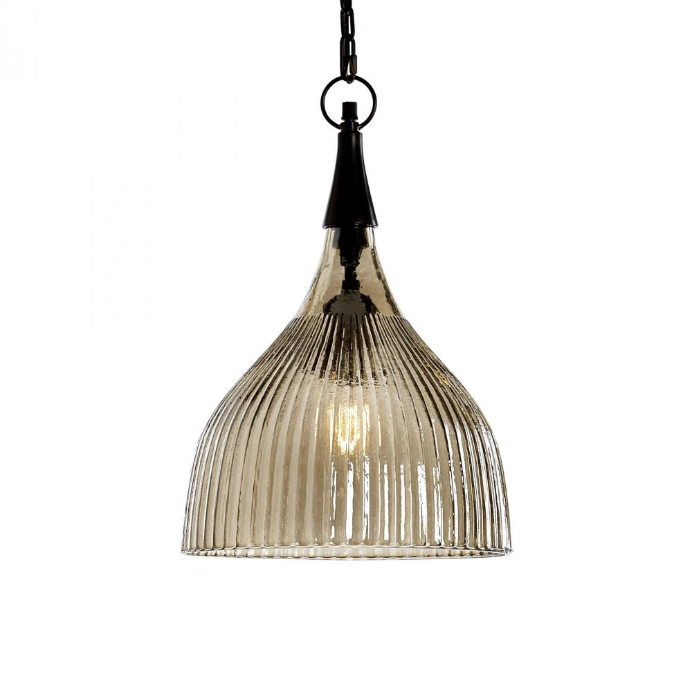 Uttermost Nuvolo 1 Light Glass Mini Pendant