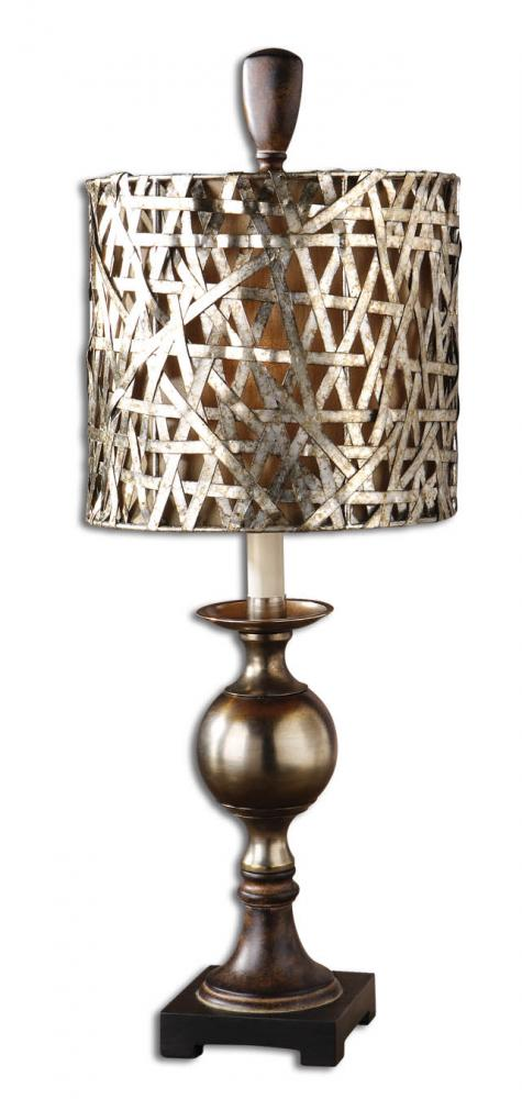 Champions Lighting in Houston, Texas, United States,  FX8L, Uttermost Alita Champagne Buffet Lamp, Alita