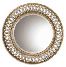Uttermost 14028 B - Uttermost Entwined Antique Gold Mirror