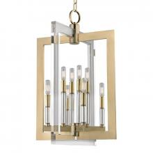 Hudson Valley 9317-AGB - 8 Light Pendant