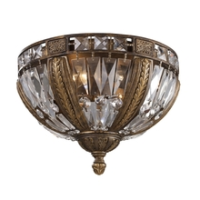 ELK Lighting 2493/4 - Millwood 4 Light Flushmount In Antique Bronze